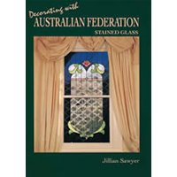 Australian federation stained glass