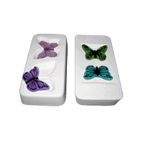 2 Small Butterflies / Colour de Verre