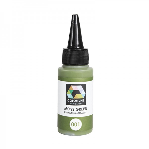 Color line Paint 001 Moss Green