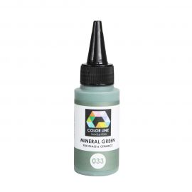 Color Line Paint 033 Mineral Green