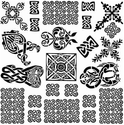 Decal Profusion Celtic 3 / Black