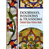Doorways Windows & Transoms Stained Glass Pattern  (Uitlopend)