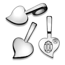 Heart Bails - Medium Silver SHBM / Aanraku®