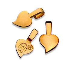 Heart Bails - Small Gold GHBS / Aanraku®