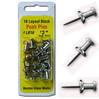 Morton 16x Push Pins LB16