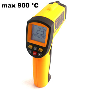 Thermometer Digital IR (max 900 °C)