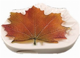 Northwoods Maple Leaf/ Colour de Verre