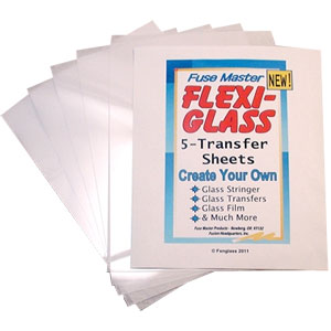 Flexi Glass Transfer Sheet (5 stuks)