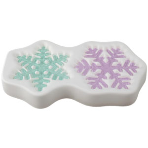 "Snowflake 15"" / Colour de Verre"